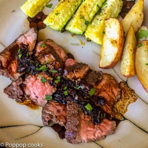 London Broil Steak-11-poppopcooks.com