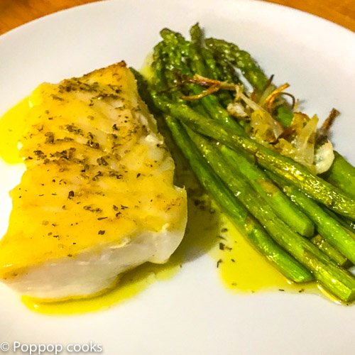 25 Minute Cod Filet Dinner-7-poppopcooks.com-cod-seafood-quickandeasy-glutenfree-paleo