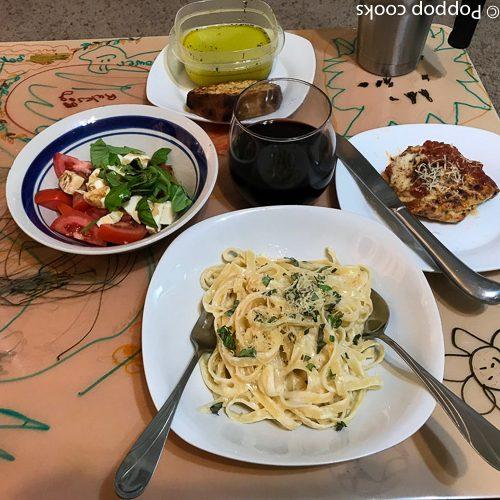poppopcooks.com -Fettuccini Alfredo