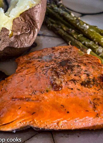Pan fried salmon recipe